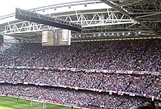 West Ham supporters at the 2006 FA Cup final