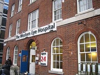 Western Eye Hospital - Image: Western Eye Hospital