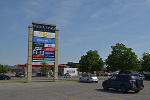 White Oaks Mall (London, Ontario) - White Oaks Mall parking lot