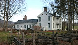 White Creek Historic District John Allen House Nov 10.jpg