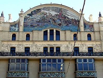 Wiki Metropol Hotel Moscow Artwork 2