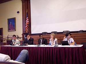 Wikimania 2006 lawyer panel