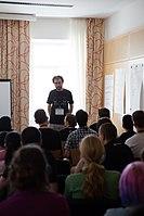 Wikimedia Hackathon Vienna 2017-05-19 Mentoring Program Introduction 010.jpg