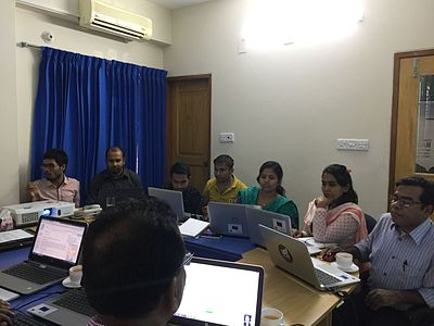 Wikipedia Workshop for Bangladesh NGOs Network for Radio and Communications staffs 01.jpg