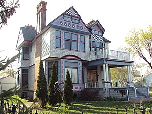 National Register of Historic Places listings in St. Clair County, Michigan - Image: Wilbur F. Davidson House