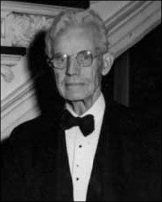 John Wilkinson (Franklin automobile) - John Wilkinson in 1947