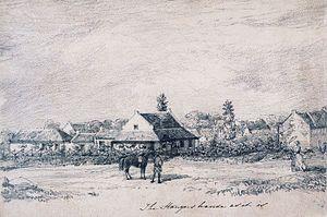 William Stanger (surveyor) - Stanger's house in Pietermaritzburg