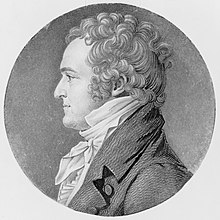 Portrait de William Wirt réalisé en 1807 ou 1808.