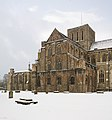 Winchester Cathedral during snow - geograph.org.uk - 1146154.jpg