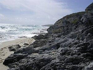 Long Island, Bahamas - Image: Windward Shore Long Island