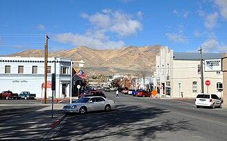 Winnemucca, Nevada - South Bridge Street in downtown Winnemucca
