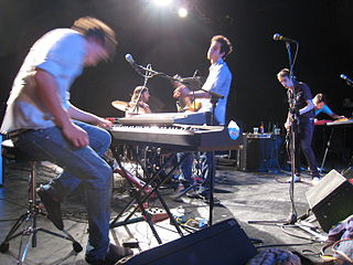 Wolf Parade Canadian rock band
