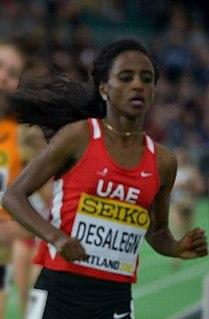 Betlhem Desalegn Emirati middle-distance runner
