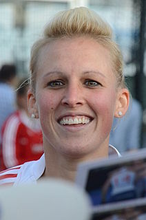 Alex Danson British field hockey player