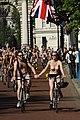 World Naked Bike Ride in London on The Mall, June 2013 (28).JPG