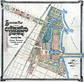 Worlds Columbian Exposition Souvenier Map, 1893.jpg