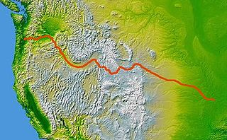 historic route to and through the American Old West