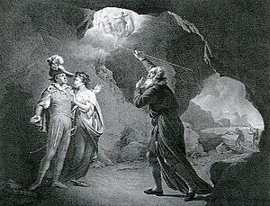 Miranda (The Tempest) - Miranda and Ferdinand, observing the masque.