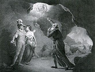Miranda (The Tempest) - Miranda and Ferdinand, observing the masque.