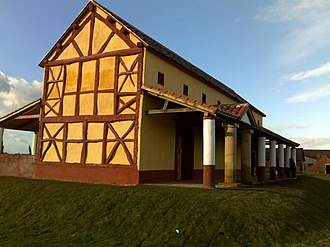 Viroconium Cornoviorum - The recreation of a Roman town house at Viroconium