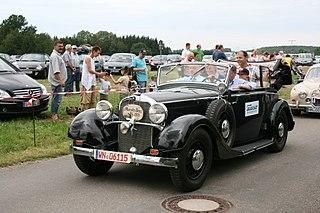 Mercedes-Benz W18 car model