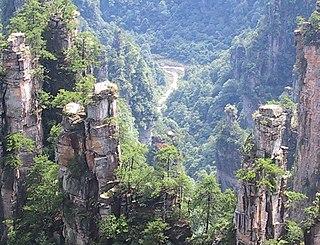Wulingyuan,  Hunan Sheng, China