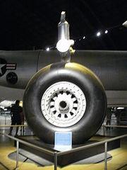 XB-36 single wheel gear