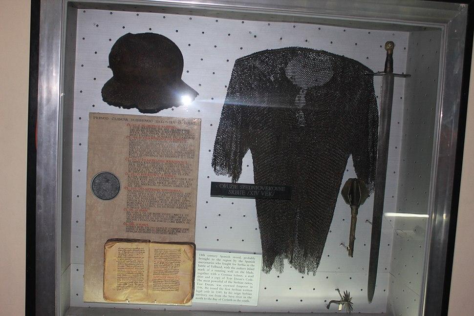 XIV century Serbian weapons