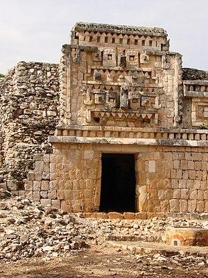 Xlapak -  A palace at Xlapak