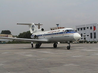 Vladivostok Air - a Yak-40 of Vladivostok Air