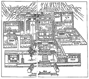 County magistrate - Yamen at Shaoxing Fu, Zhejiang Province, 1803.