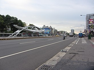 Xiaogang District - Image: Yanhai 1st Road in Kaohsiung, Taiwan