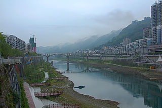 Yanhe Tujia Autonomous County County in Guizhou, Peoples Republic of China
