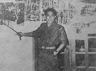 Ahmad Yani - Col. Yani leading a briefing on 12 April 1958 during Operation 17 August