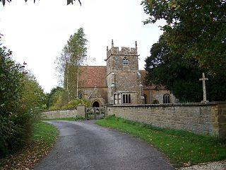 Yarlington village in the United Kingdom