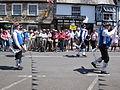 Yarmouth Old Gaffers Festival 2009 Morris dancers 2.jpg