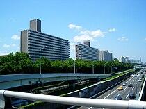 Yashio park town seen from 3chome shinagawa tokyo 2009.JPG