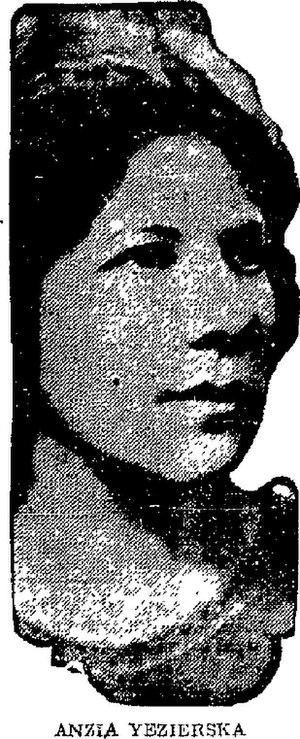 Anzia Yezierska - Anzia Yezierska in 1922