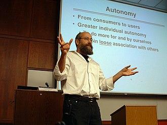 Yochai Benkler - Yochai Benkler speaking at UC Berkeley School of law in 2006