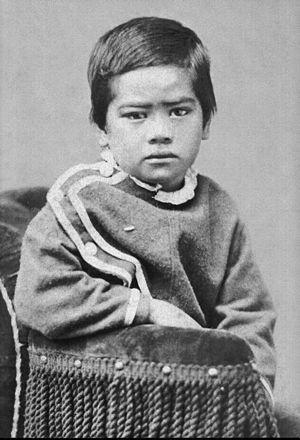 Jonah Kūhiō Kalanianaʻole - The young Kūhiō