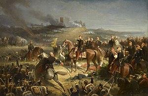 Battle of Solferino - The Battle of Solferino, by Adolphe Yvon