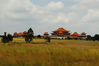 Bronkhorstspruit - The Nan Hua Temple Complex in Bronkhorstspruit