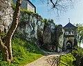 Zamek w Ojcowie - wieża bramna 14.jpg
