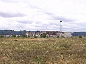 Bauruine Kernkraftwerk Żarnowiec