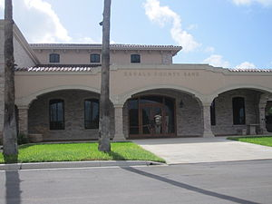 Crystal City, Texas - Zavala County Bank in Crystal City