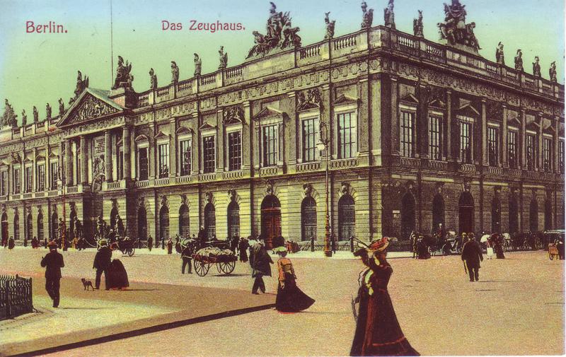 Aujourd'hui le palais où se trouve le musée d'histoire allemande à Berlin.