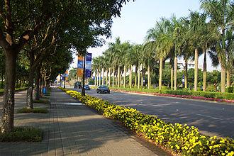 Dongqu Subdistrict - Xingzhong Road (兴中道) in East District, Zhongshan