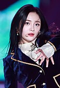 Zhou Jieqiong at Seoul Music Awards on January 25, 2018 (2).jpg