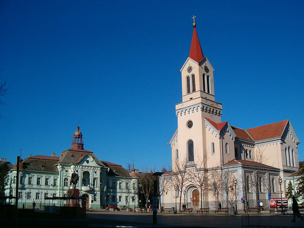 Zrenjanin Cathedral and City Hall