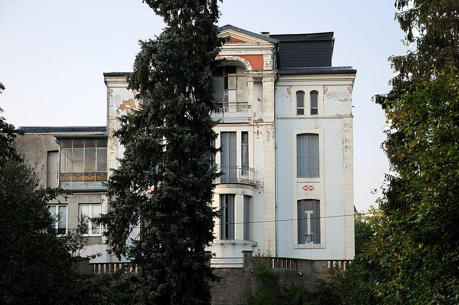 Al Villa zu Altwis.